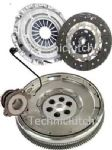 DUAL MASS FLYWHEEL CLUTCH KIT CSC OPEL VECTRA C GTS 2.2 DIRECT 6 SPEED